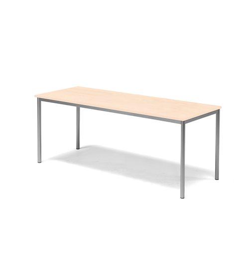Pöytä Sonitus, Ääntä vaimentava HPL, (KPxK) 600x1800x700 mm,