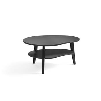 Eagle oak coffee table, 1000x800x500 mm, black