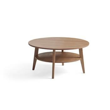 Sofabord, Ø1000 mm, eik