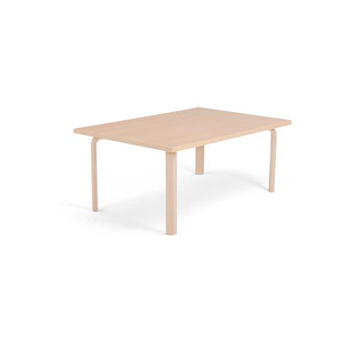 Pöytä Falken, (KxPxL) 500x1200x800 mm, Pyökkilaminaatti