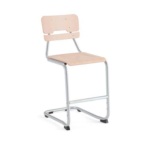 Tuoli Legere I, Istuinkorkeus (mm):550, Pyökki, Runko harmaa