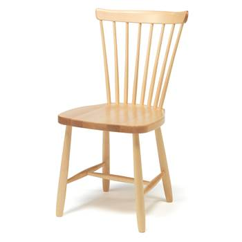 Anna wooden children's chair, H 460 mm, birch