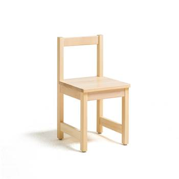 Tessa children's chair, H 360 mm, birch