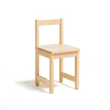 Tessa children's chair, H 390 mm, birch