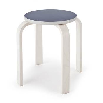 #e- Stool Björkavi graySeat height 350xØ330 mm.
