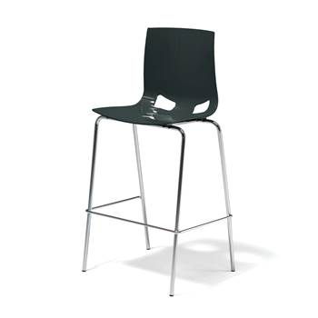 Samba bar chair, anthracite