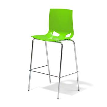 Samba bar chair, green