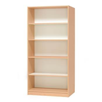 Bookcase, 1000x450x2100 mm, beech