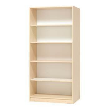 Bookcase, 1000x450x2100 mm, birch