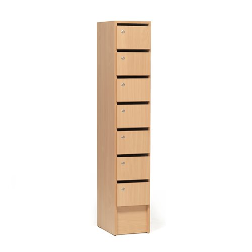 #e- Cupboard 7 compartments 161x30x42 cm
