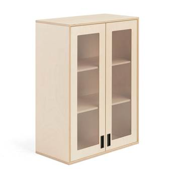 Upper cabinet with glass doors