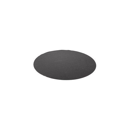Matto Ludde, pyöreä, ø 1000 mm, tummanharmaa