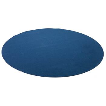 Ludde round play mat, Ø2000 mm, light blue