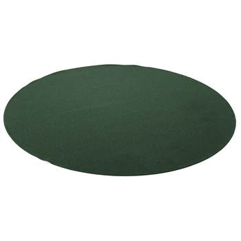 Ludde round play mat, Ø2000 mm, green