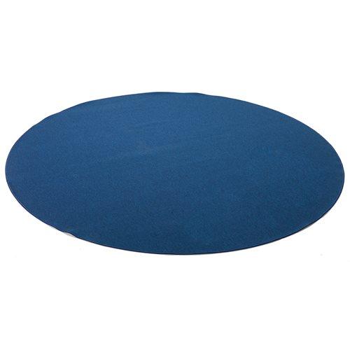 #sv Matta ludde rund ø 3m ljusblå