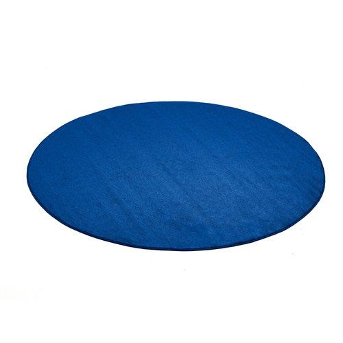 Pyöreä matto, Kalle, Halkaisija (mm):2000, Sininen