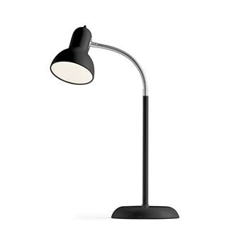 Traditional desk lamp, black