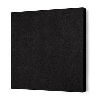 Lydabsorbent Kvadrat, 600x600 mm, svart
