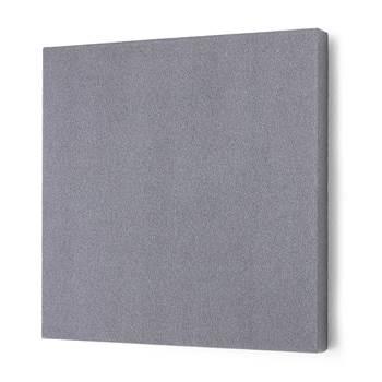 Lydabsorbent Kvadrat, 600x600 mm, lys grå