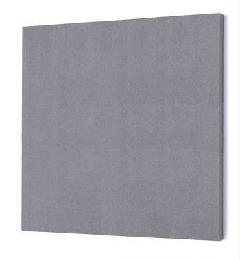 Noise absorbing panels, square, 1180x1180x50 mm, light grey
