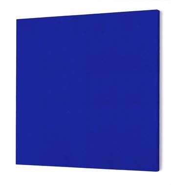 Ljudabsorbent, kvadrat, blå