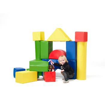 Haga large foam building blocks set