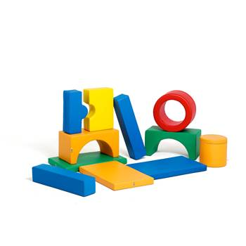 Foam building blocks, medium set