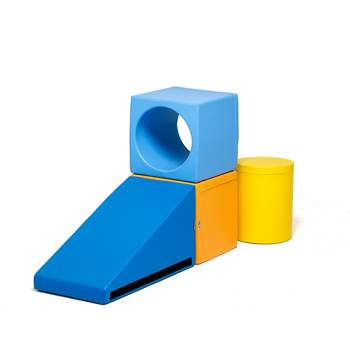 Foam building blocks, small set
