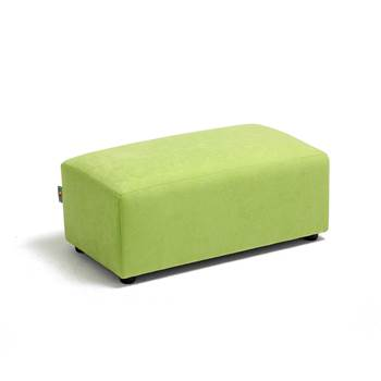 Caterpillar sofa, medium seat, 700x360x270 mm, green