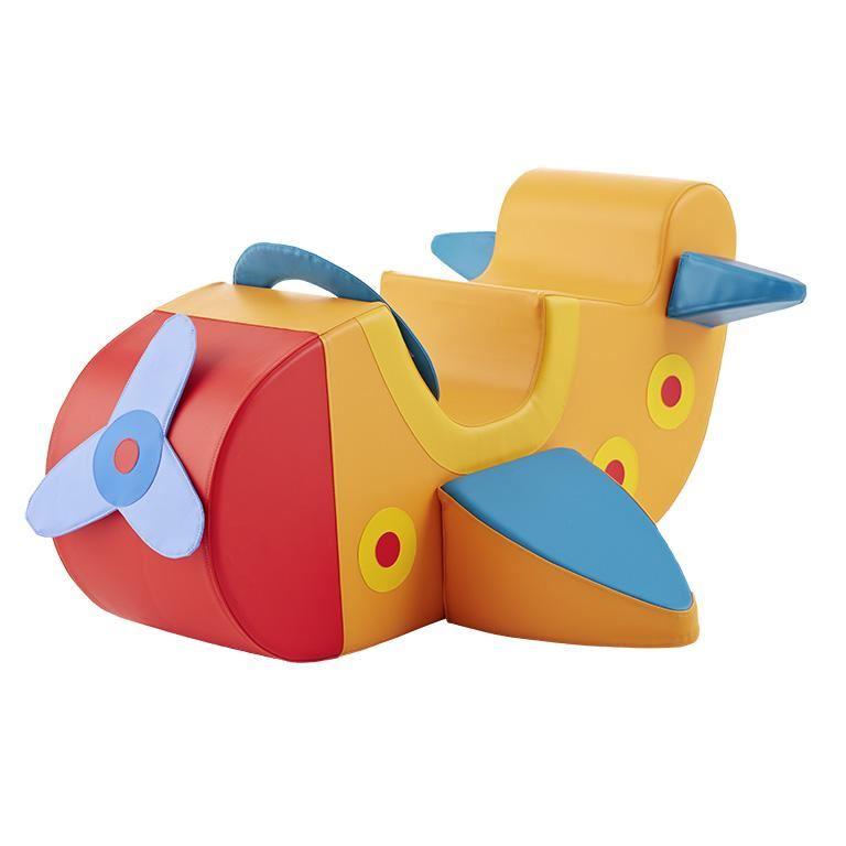 Soft play aeroplane seat