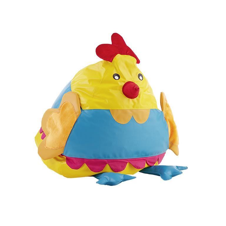 Siedzisko w kształcie kury