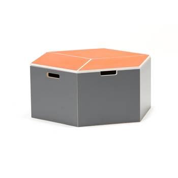 Sittmodul Hella, orange