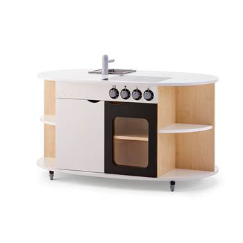 All-in-one play kitchen