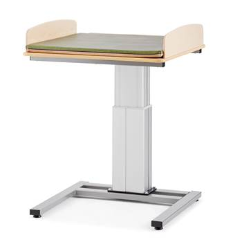 Elin Height-adjustable baby changing table, without sink, 800x800 mm