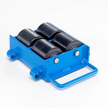 Adjustable machine skates, 6000 kg load
