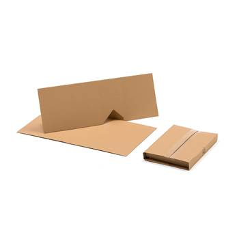 Flexible shipping cover