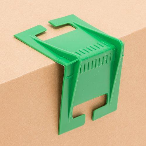 Edge protection for elastic retaining strap