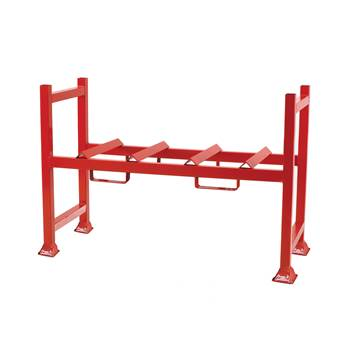 Drum racking system: pallet unit