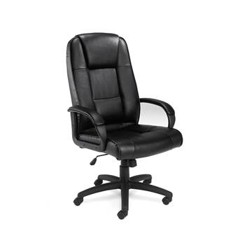 """Keno"" leather office chair"