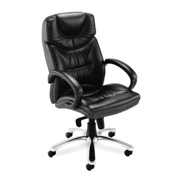 """Nevada"" leather office chair"