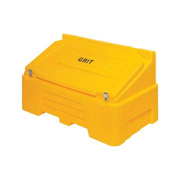 Grit bin: Yellow: 400 Litres