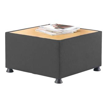 """Glacier"" coffee table: charcoal"