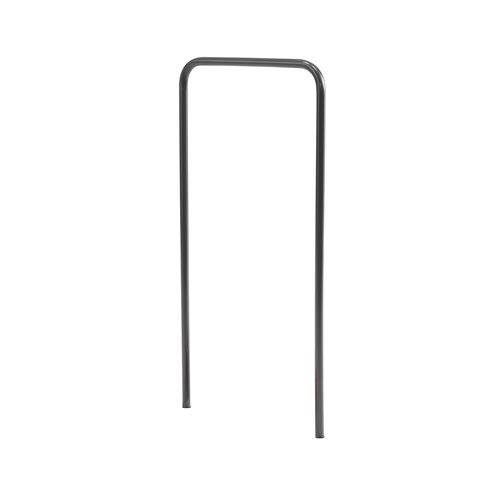 Hand rail for shoe scraper