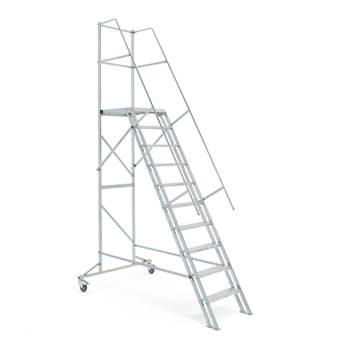 AJ-trappen, 10 trinn, høyde: 2000 mm
