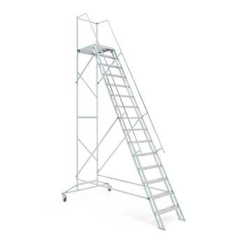 AJ-trappen, 15 trinn, høyde: 3000 mm