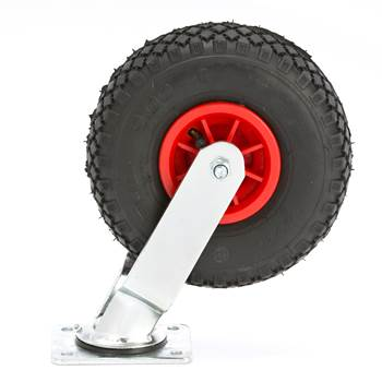 #en Fixed wheel, 226x85mm pneumatic rubber, 100kg