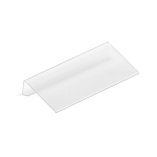 Shelving label holder: 100x45 mm