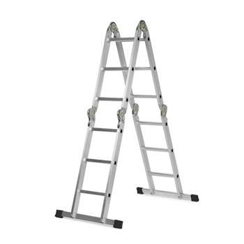 Universal folding ladder: L 3.7m