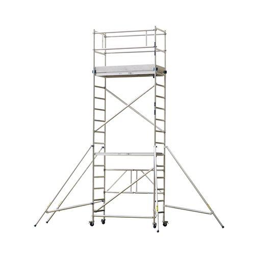 Aluminium scaffold: 5.8 m reach
