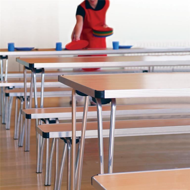 Contour folding tables